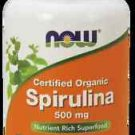 Spirulina 500Mg  200 Tabs NOW Foods