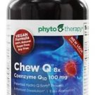 Phyto Therapy Chew Q 8x Coenzyme Q10 100 mg - 50 Chewable Wafers exp:02/2017