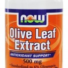 NOW Foods Olive Leaf Extract Vegetarian 500mg - 60 Vegetarian Capsules
