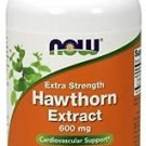 Now Foods Hawthorn Extract 600mg Cardiovascular Support - 90 Veg Caps