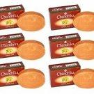 6 Bars of Chandrika Soap Sandal Soap - 75g