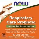 Now Foods Respiratory Care Probiotic Seasonal Respiratory Support