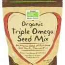 Now Foods Organic Triple Omega Seed Mix - 12 oz (340 g)