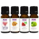 Now Foods Love At First Scent Romantic Oils Kit 4 Bottles 1/3 fl oz (10 ml) Each