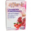 Now Foods Effer-C Cranberry Pomegranate - 30 Packets 5.5g Each