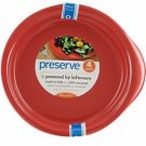 Preserve - Pepper Red Everyday Plates 9.5 inch - 4 pack