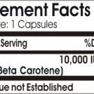 Vitamins Because Your Worth It Beta Carotene 10,000 IU - 100 Caps
