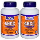 2 Pack Now Foods AHCC Extra Strength 750 mg, 60 Vcaps