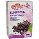Now Foods, Effer-C, Effervescent Drink Mix, Elderberry, 30 Packets, 5.5 g Each