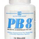 PB 8 Pro-Biotic Acidophilus Nutrition Now 60 Caps