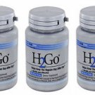 3 Pack Lane Labs H2Go Gentle Constipation Relief - 90 Mini Tabs