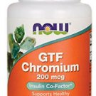 NOW Foods GTF Chromium 200 mcg - 100 Tablets