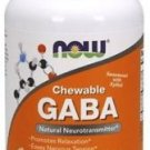 GABA 250 mg Chewable Now Foods 90 Chewable