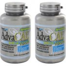 2 Pack Lane Labs AdvaCal Ultra 1000mg Bone Building Calcium - 120 Caps