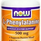 L-Phenylalanine 500mg 120 Capsules Now Foods