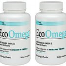 2 Pack Lane Labs EcoOmega Sustainable Omega 3 - 150 Softgel Pearls