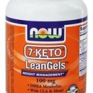 7-Keto DHEA 100Mg Leangels 120 Sgels NOW Foods with CLA