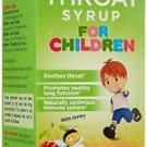 Herbion Naturals Throat Syrup For Children - All Natural Cherry Flavor - 5 Oz