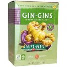 The Ginger People - Original Gin Gins - Chewy Ginger Candy - 4.5 oz - 20pcs
