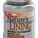 Lane Labs Nature's Lining | Strengthens the Stomach Wall | 60 Chewable Tablets