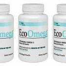 3 Pack Lane Labs EcoOmega Sustainable Omega 3 - 150 Softgel Pearls