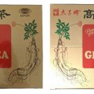 2 Boxes Prince Of Peace Instant Korean Panax Ginseng Tea bag(0.7 oz) - 100 Count