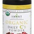 Organic Daily C's Powder - 4.46 oz (125 Grams) by Smart Organics