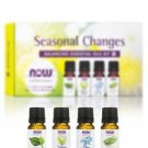 Seasonal Changes Balancing Essential Oils Kit - 4 - 1/3 fl. oz (10 ml) Bottles b