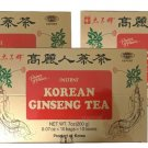 3 Boxes Prince Of Peace Instant Korean Panax Ginseng Tea bag(0.7 oz) - 100 Count