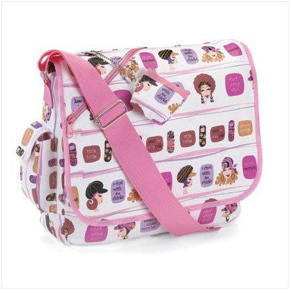 SAUCY SECRETS MESSENGER BAG