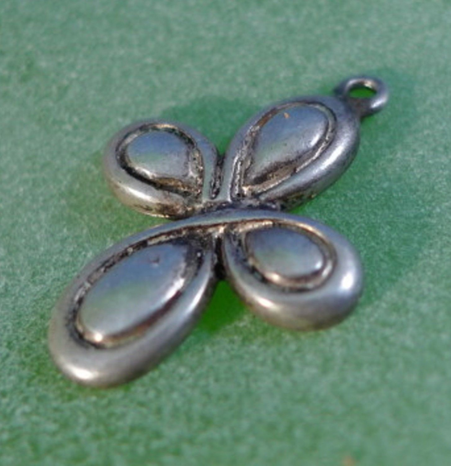 CHARM: sterling 925 silver CROSS charm