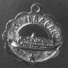 Vintage Silver Charm : S.S. Veracruz Cruise Ship Travel Souvenir
