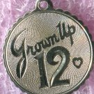 "Vintage ""Grown Up 12"" Birthday Charm :  Sterling 925 Silver"