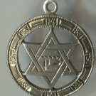 JUDAIC CHARM : STAR OF DAVID marked STERLING