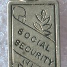 vintage CHARM :  RETIRE WITH SOCIAL SECURITY STERLING 925 SILVER