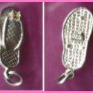 Sterling & Gems FLIP FLOP SANDAL CHARM #11