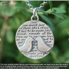 Inspirational Kevin & Anna Charm 950 Silver / KISS = LOVE QUOTE / 22mm