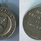 Vintage Sterling Silver Charm : 1933 Camp Wyanoke Model Yacht Race 2nd Place
