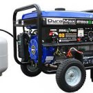 GENERATOR PORTABLE HYBRID DUAL FUEL PROPANE OR GAS CAMPING RV LOW OIL SHUT OFF