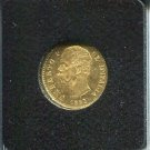 1882-R 20 LIRA UMBERTO I GOLD COIN ITALY BEAUTIFUL SPECIMEN INTRICATE ENGRAVING