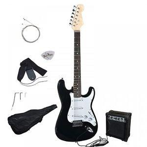 Guitar Acoustic 6 String Case Strap Tuner 2 Picks 10 Watt Amp Beginners Package