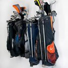 Golf Bag Storage Rack Large Hangs 6 Bags Personal Pro Shop Space Saver Off Floor