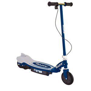 Razor Scooter Electric Motorized 24v Powered Bike Blue Kids Mini Rechargeable