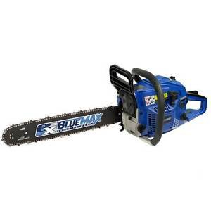 Chain Saw Gas Powered 18 inch Inertia Kick Back Safety Brake Chain Oil Feed 45cc