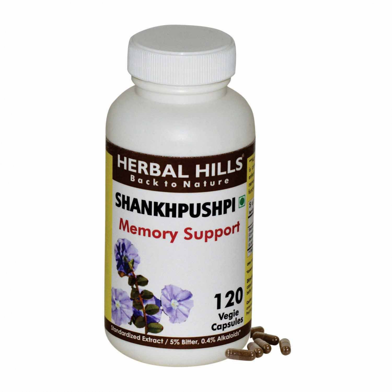 Shankhpushpi Canscora decussata 120 Vegie Capsules