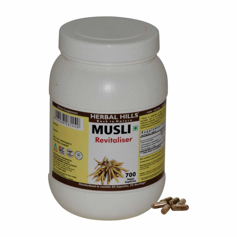 Musli chlorophytum borivilianum 700 Vegie Capsules