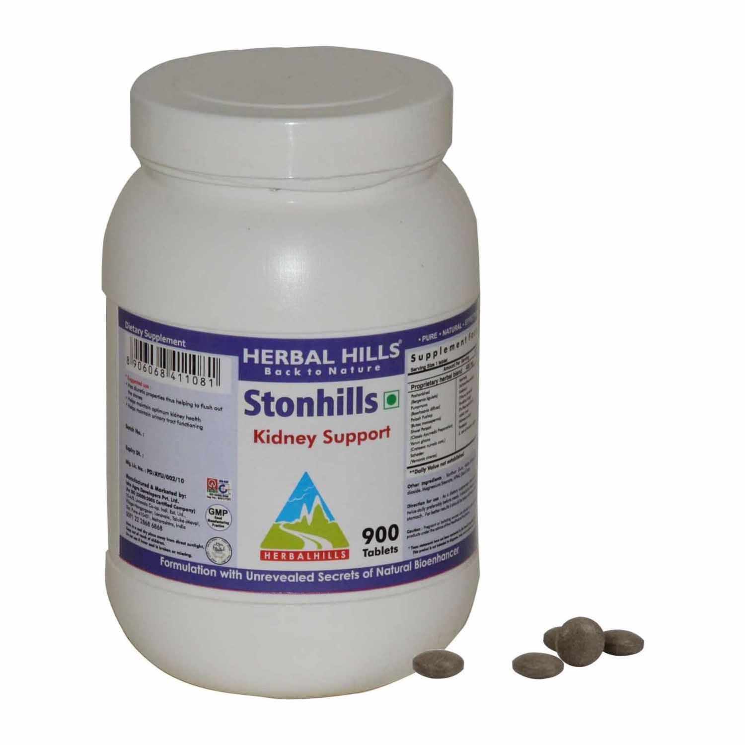 Stonhills 900 Tablets - Kidney Support