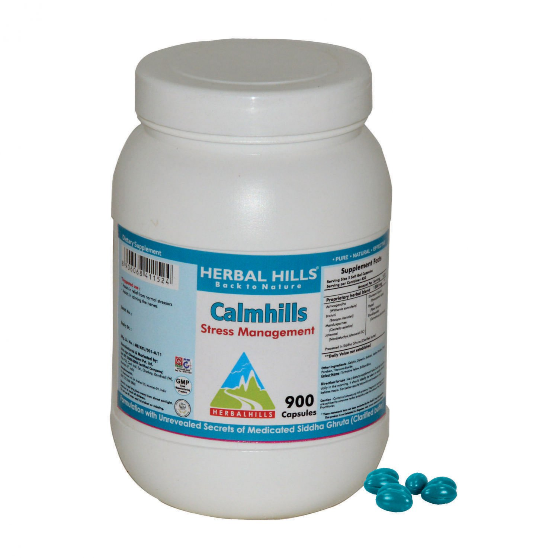 Calmhills 900 Capsule - Stress Management Formula