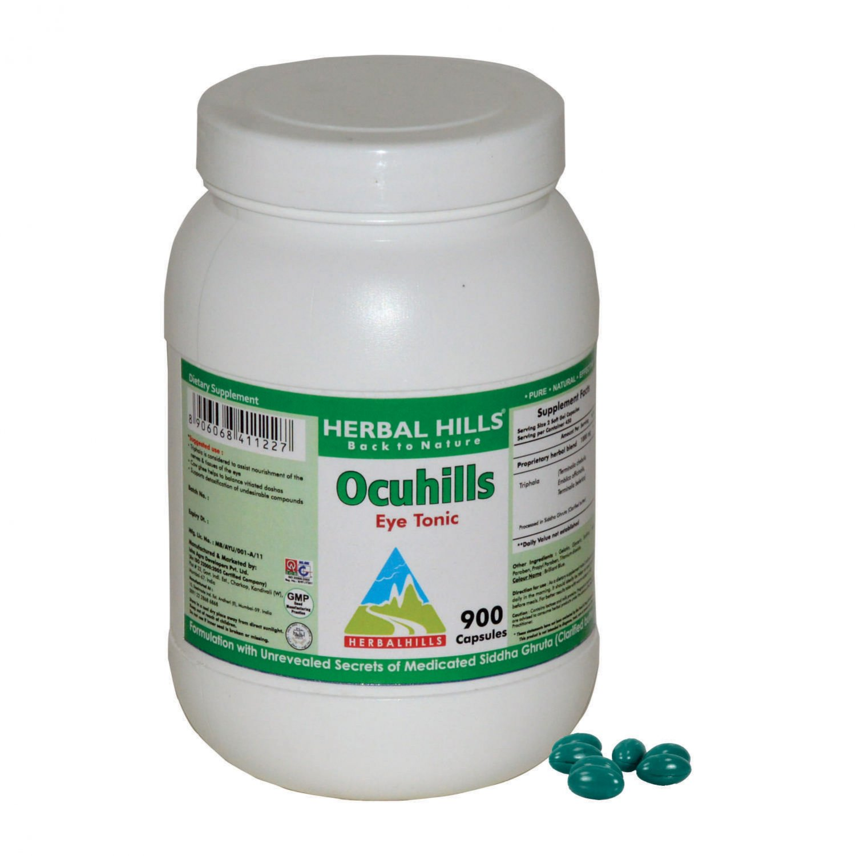 Ocuhills 900 Capsule - Eye Care Formula