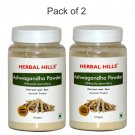 Ashwagandha Powder - Withania somnifera Pack of 2 - 100 gms each
